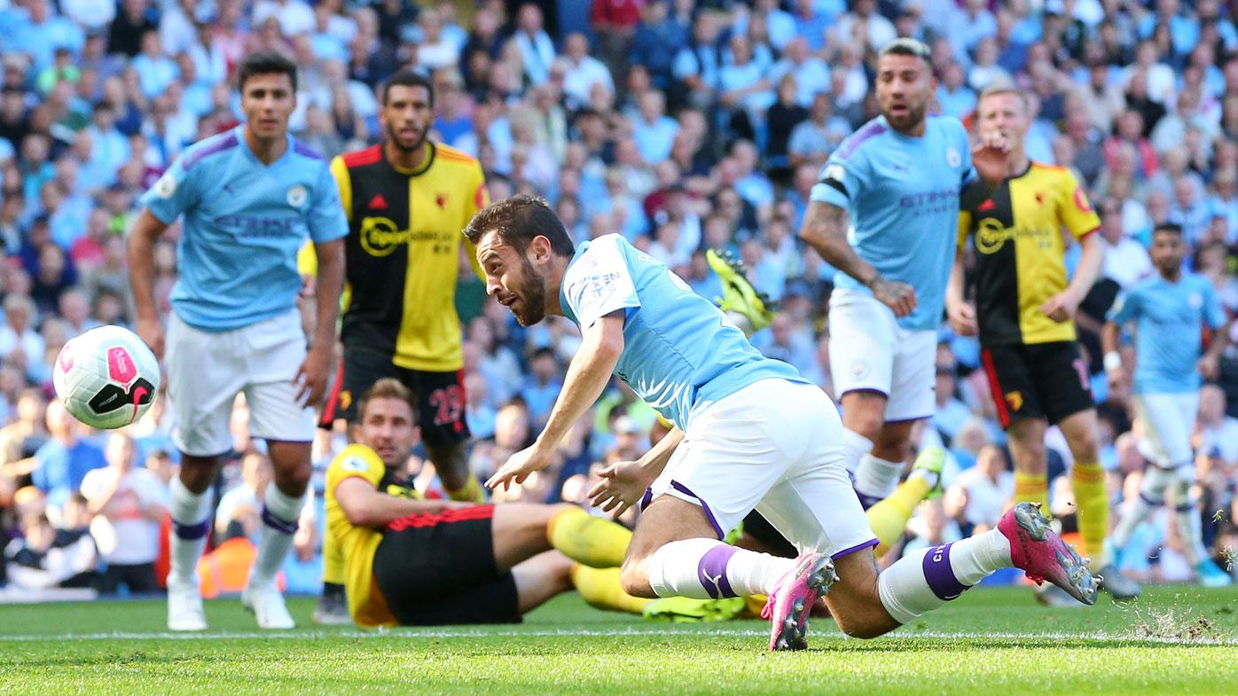 Rampant Manchester City smash eight past Watford