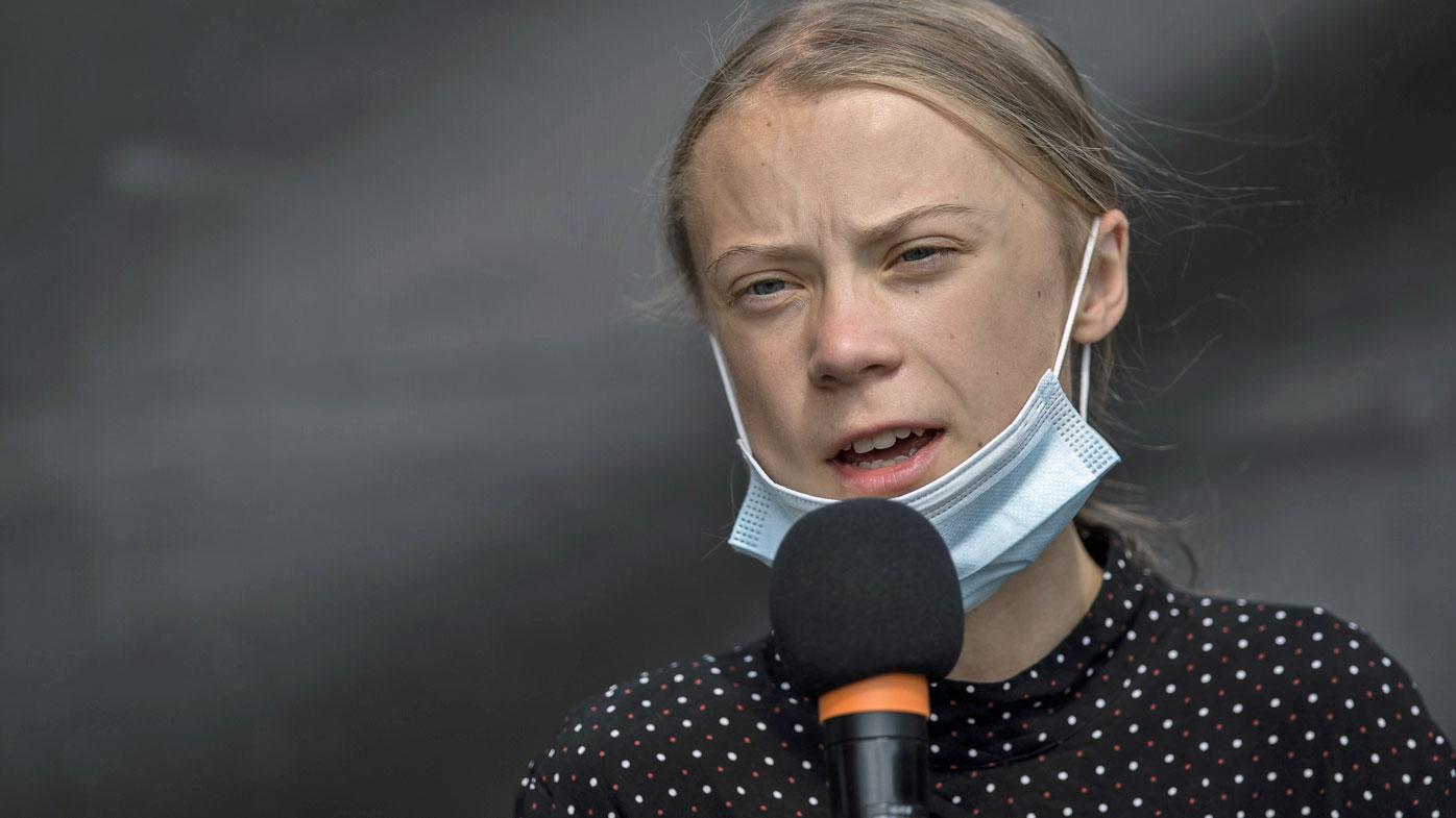 Greta takes fresh swipe at Ardern's response to climate change