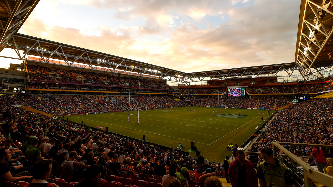 Suncorp Stadium (pictured) could lose the NRL Grand Final to Townsvile if a coronavirus outbreak materialises in Brisbane.