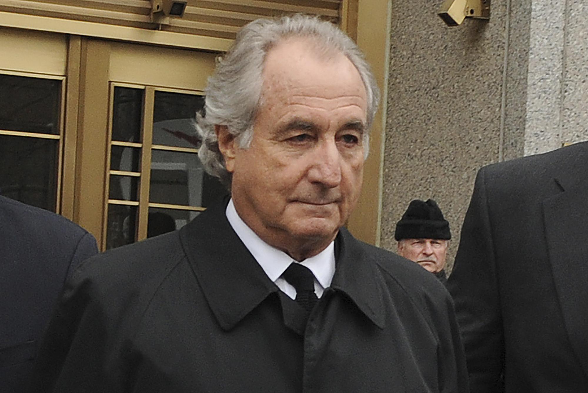 Man behind largest Ponzi scheme in history dies