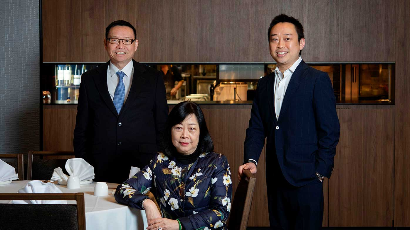 Golden Century's owners Owners Eric and Linda Wong, and son Billy.