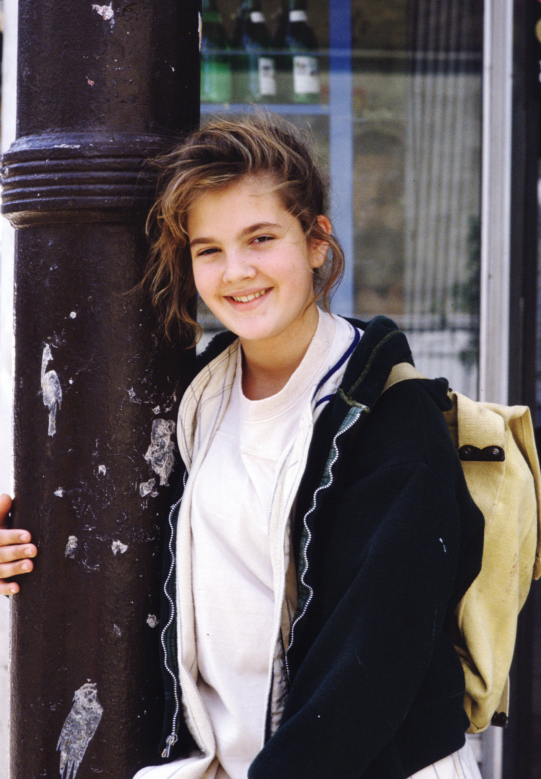 Drew Barrymore stars in the 1987 movie A Conspiracy of Love