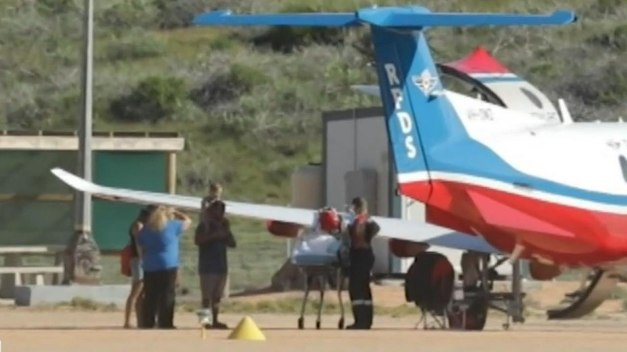 Coral Bay shark attack