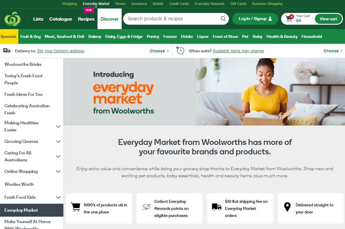 Woolworths' online shopping secret weapon launched