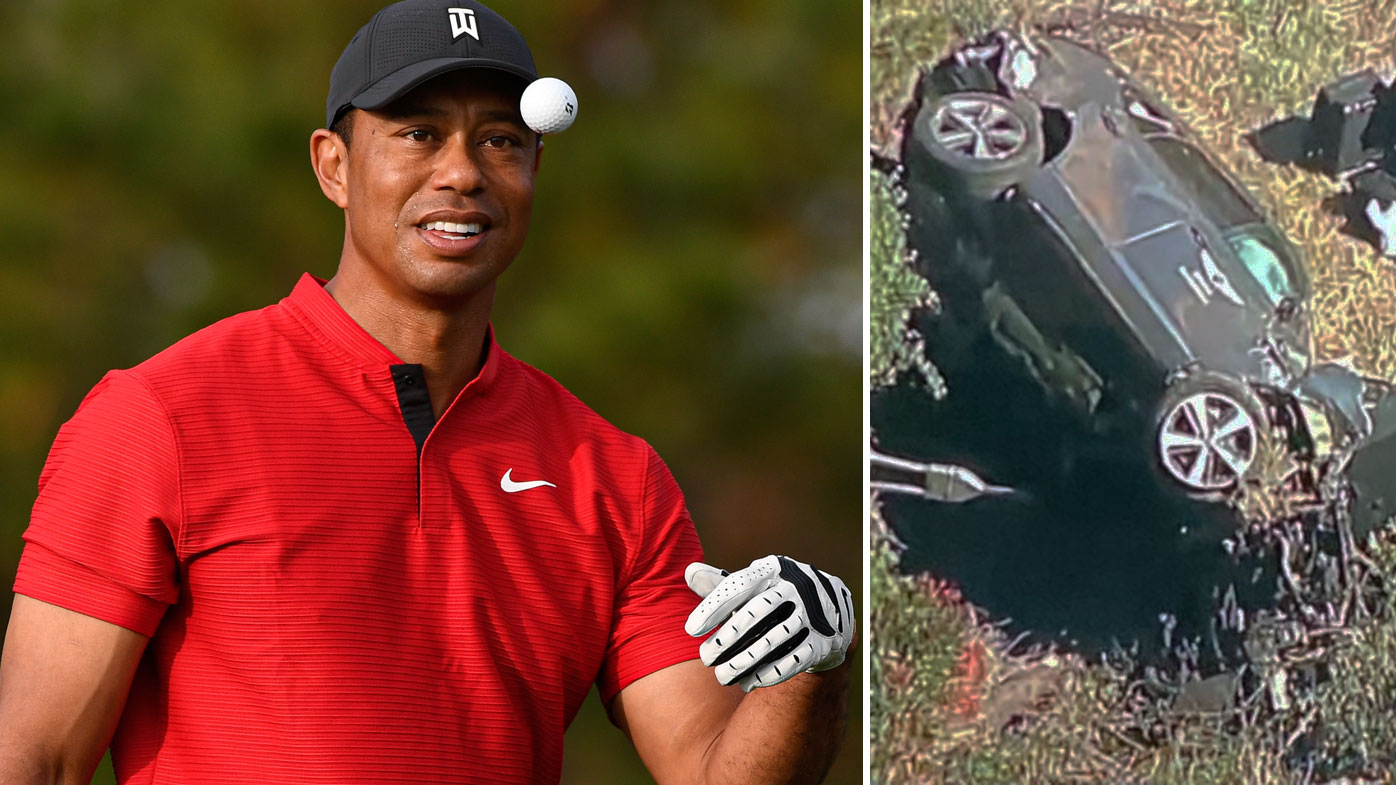 Tiger Woods was involved in a serious car crash this morning.