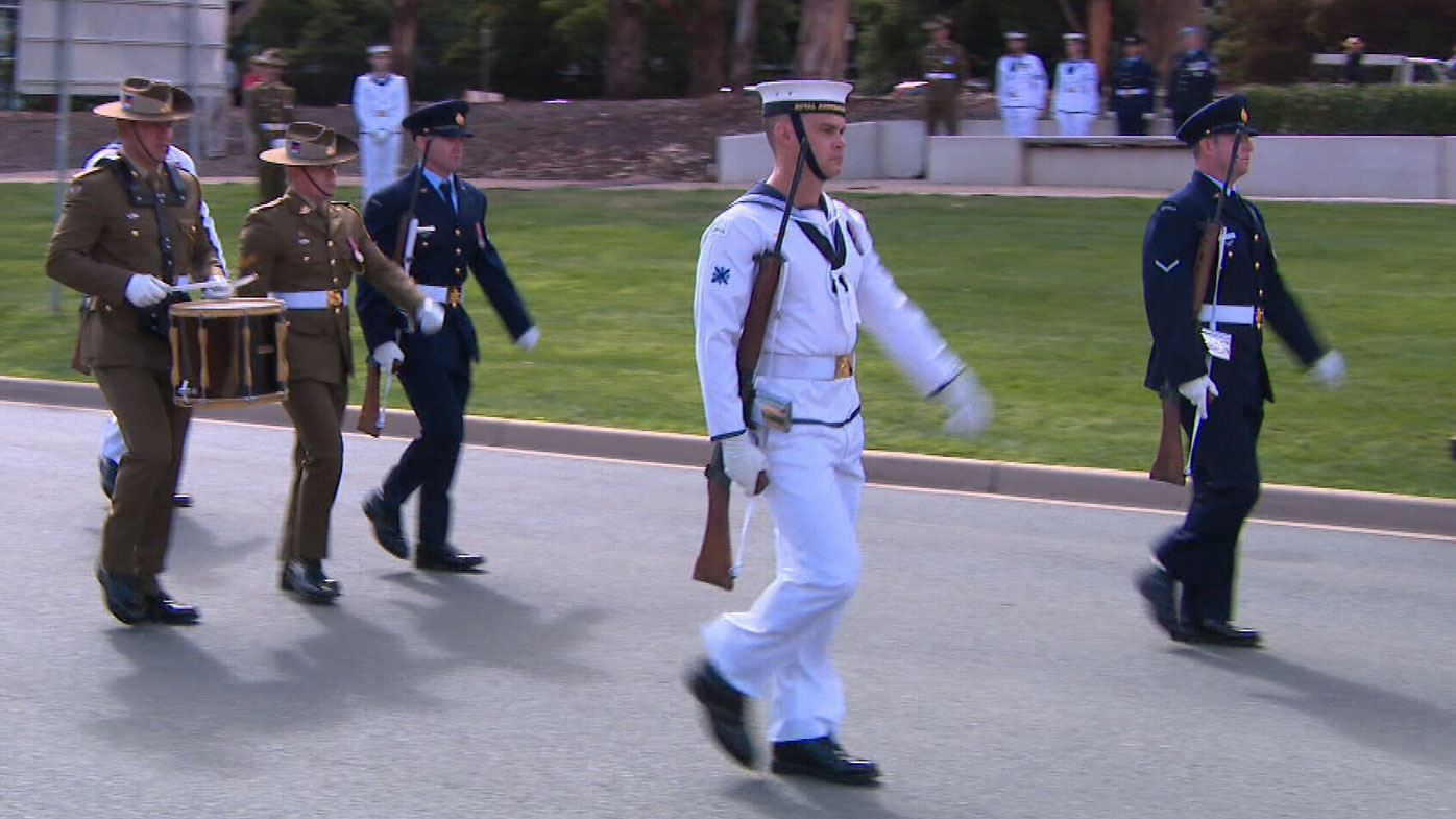 Defence personnel who served in the Rwanda peacekeeping mission Operation Tamar in the 1990s have been honoured at a service in Canberra.