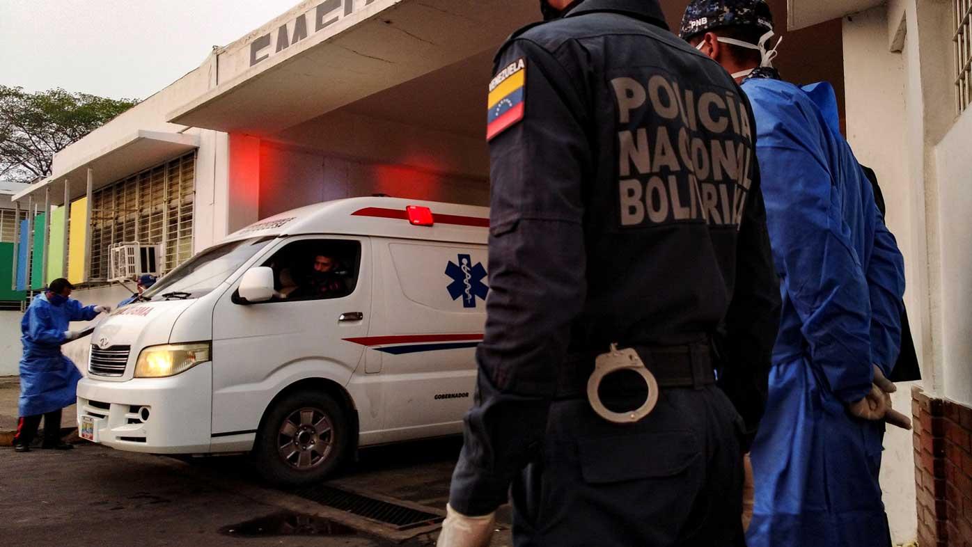 At least 46 people killed in Venezuela prison riot