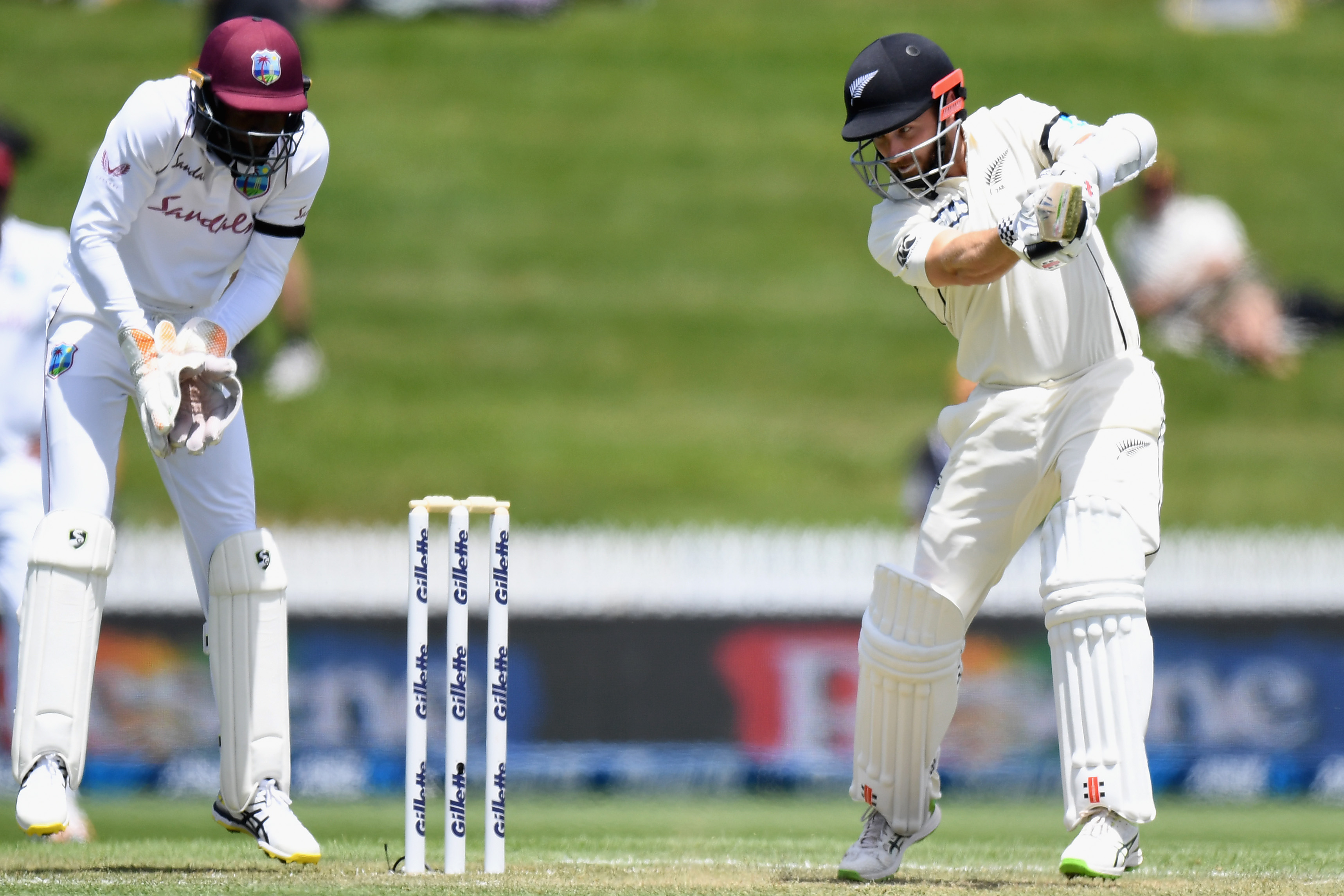 Bowlers push New Zealand to brink of first Test victory vs Windies