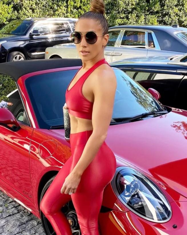 Alex Rodriguez gave Jennifer Lopez a Porsche for her 50th birthday in 2019.
