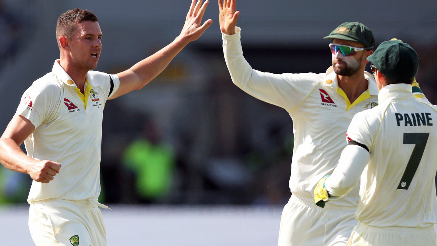 Josh Hazlewood was on fire for Australia in the third Ashes Test