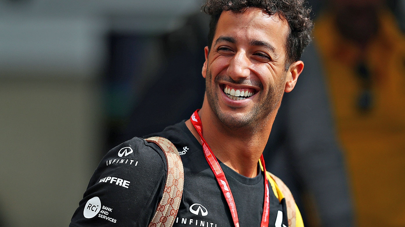 Daniel Ricciardo of Australia and Renault Sport