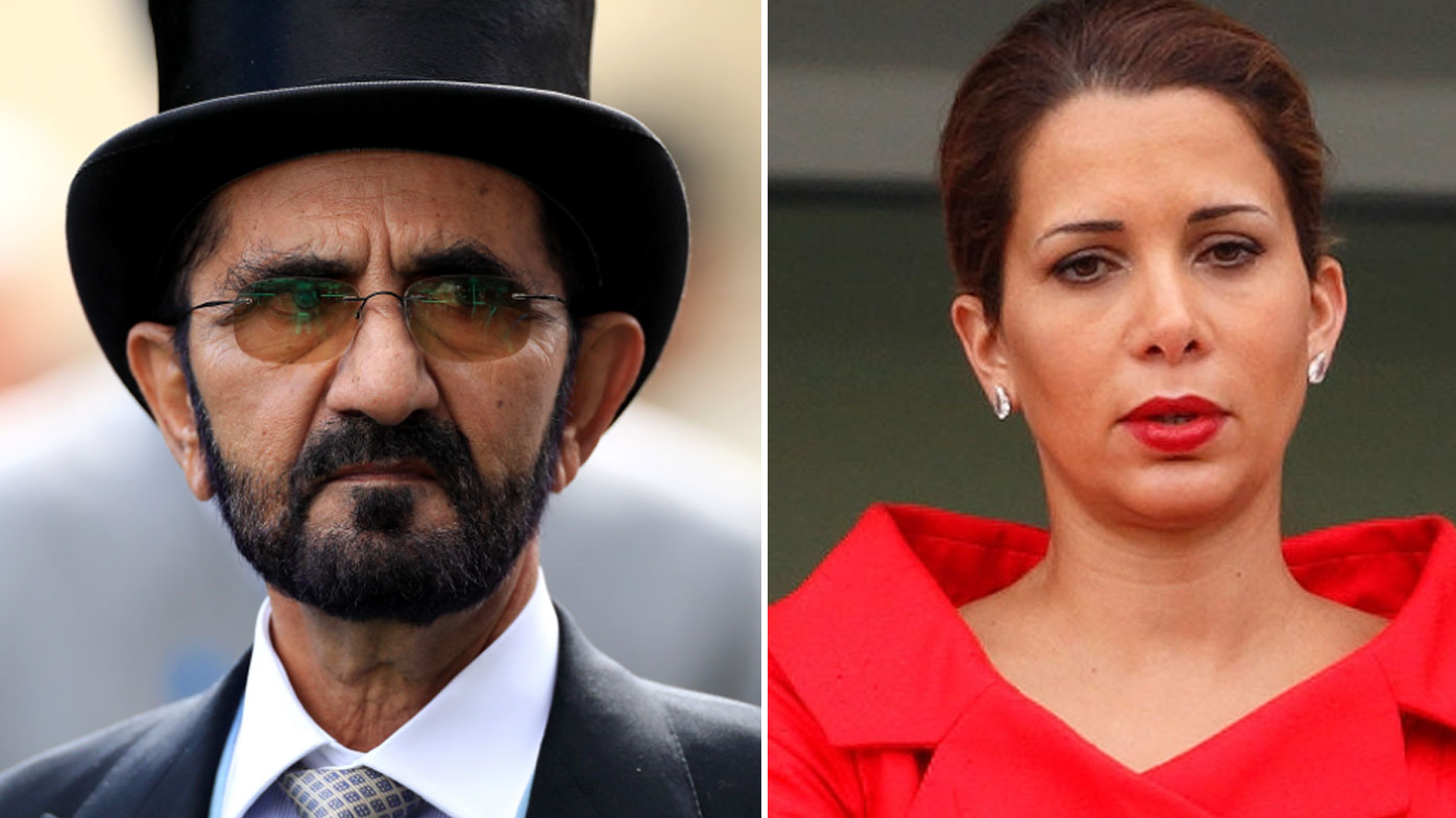 United Arab Emirates Sheikh's wife flees to Germany with