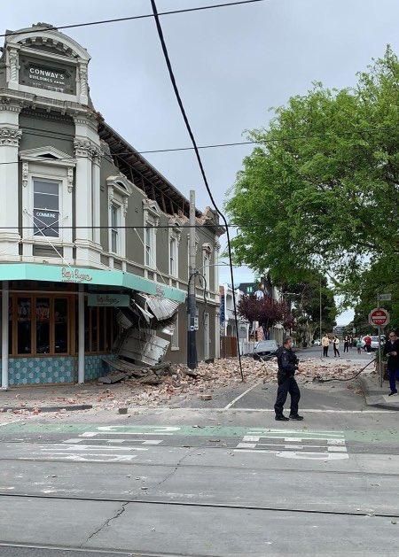 Earthquake strikes east of Melbourne