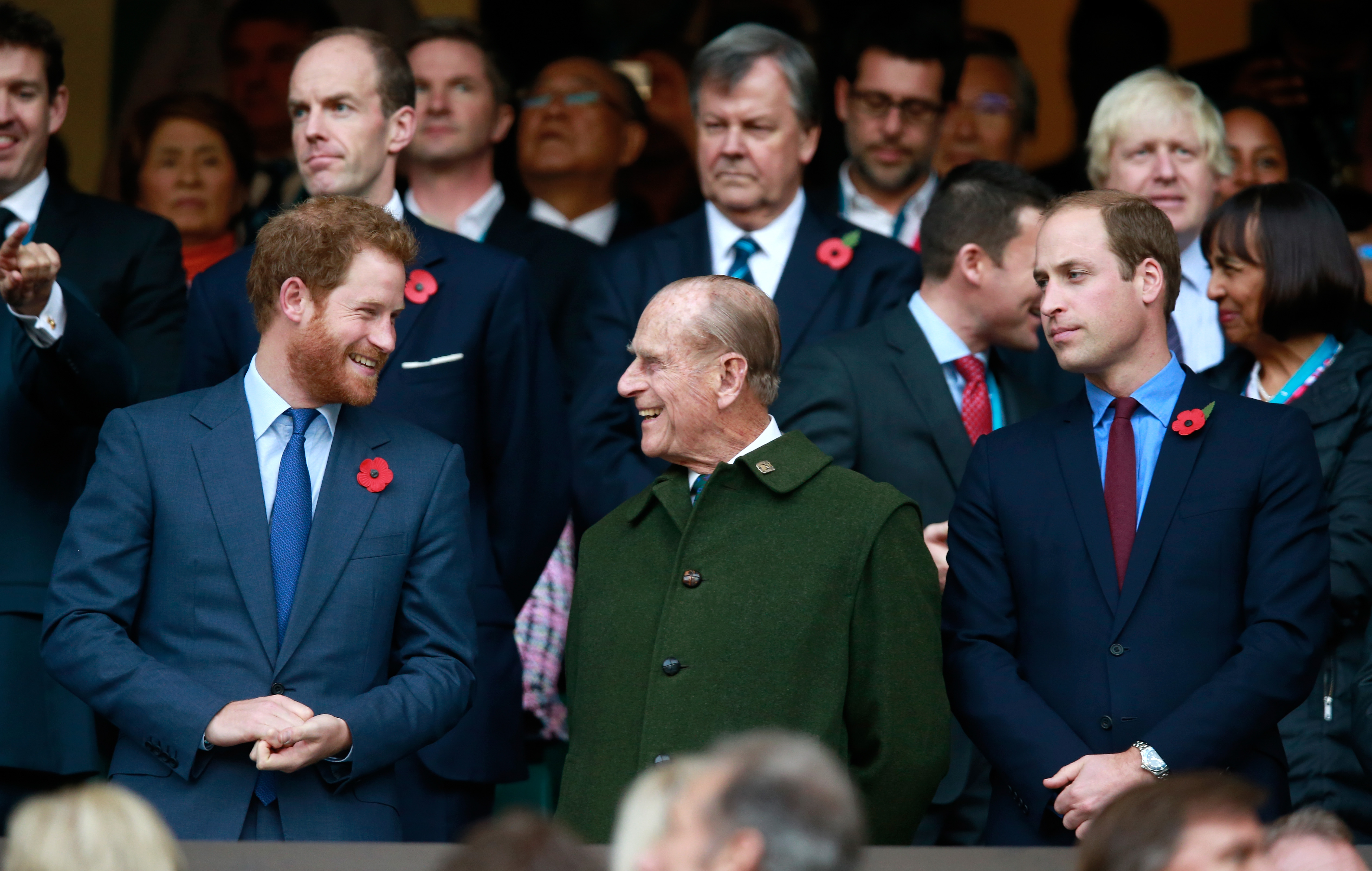 Princes Harry and William mourn a man of service, a 'legend of banter'