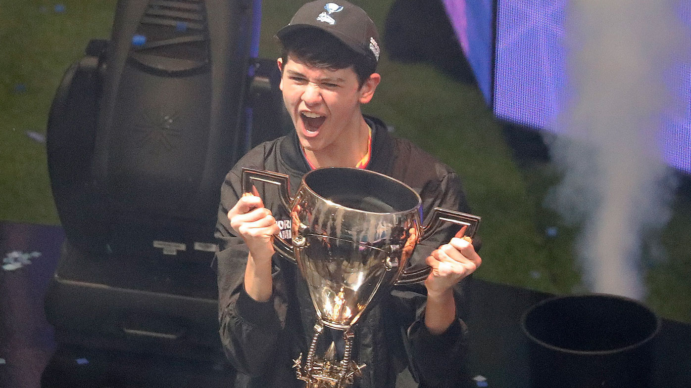 Bugha wins the Solos World Cup title