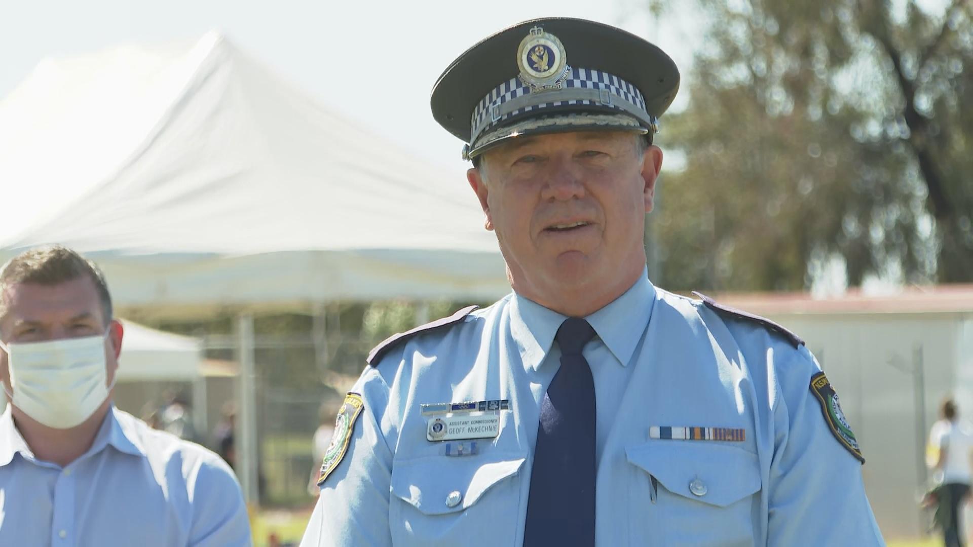 Western Region Commander Assistant Commissioner Geoff McKechnie.