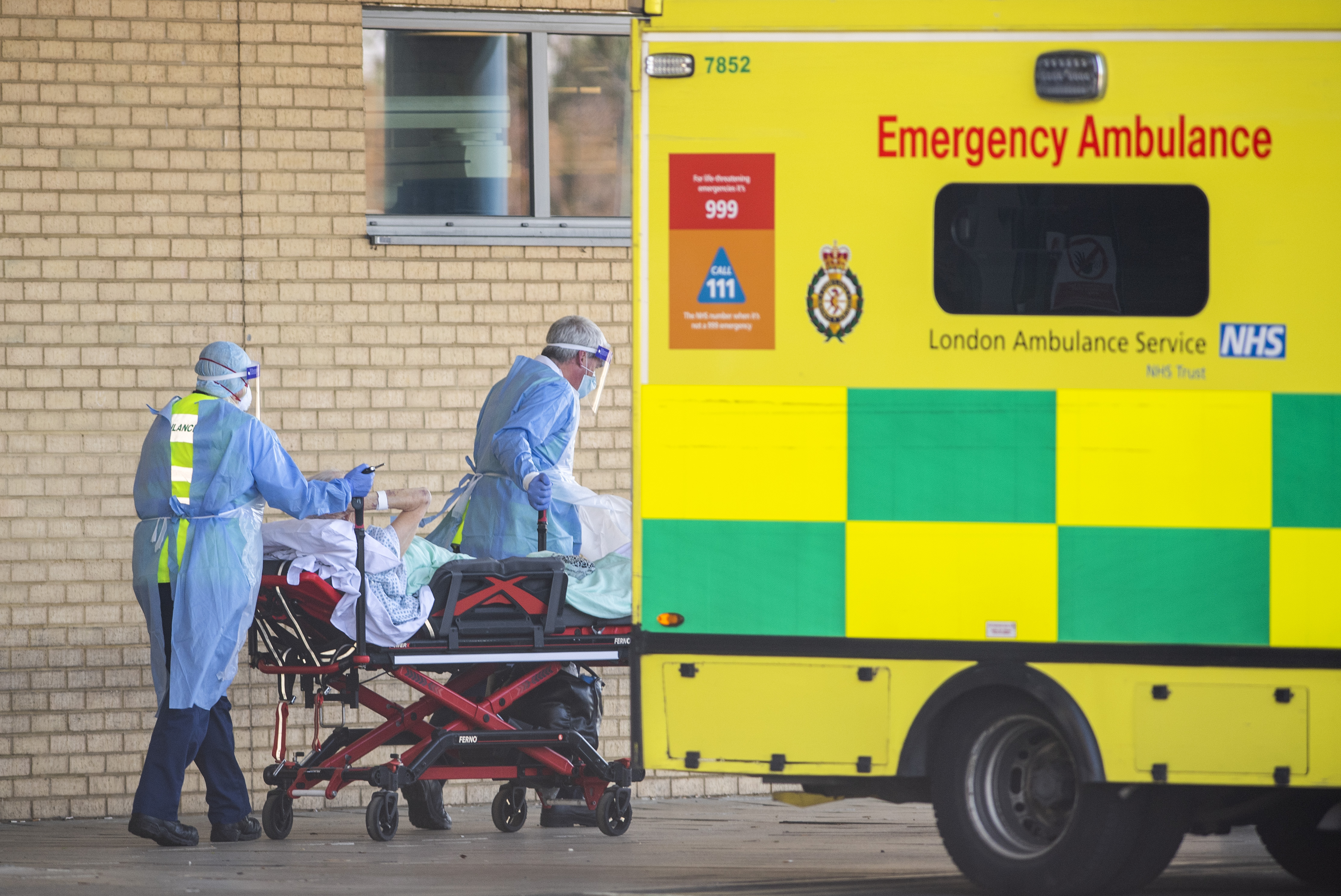 UK death toll now second highest in Europe