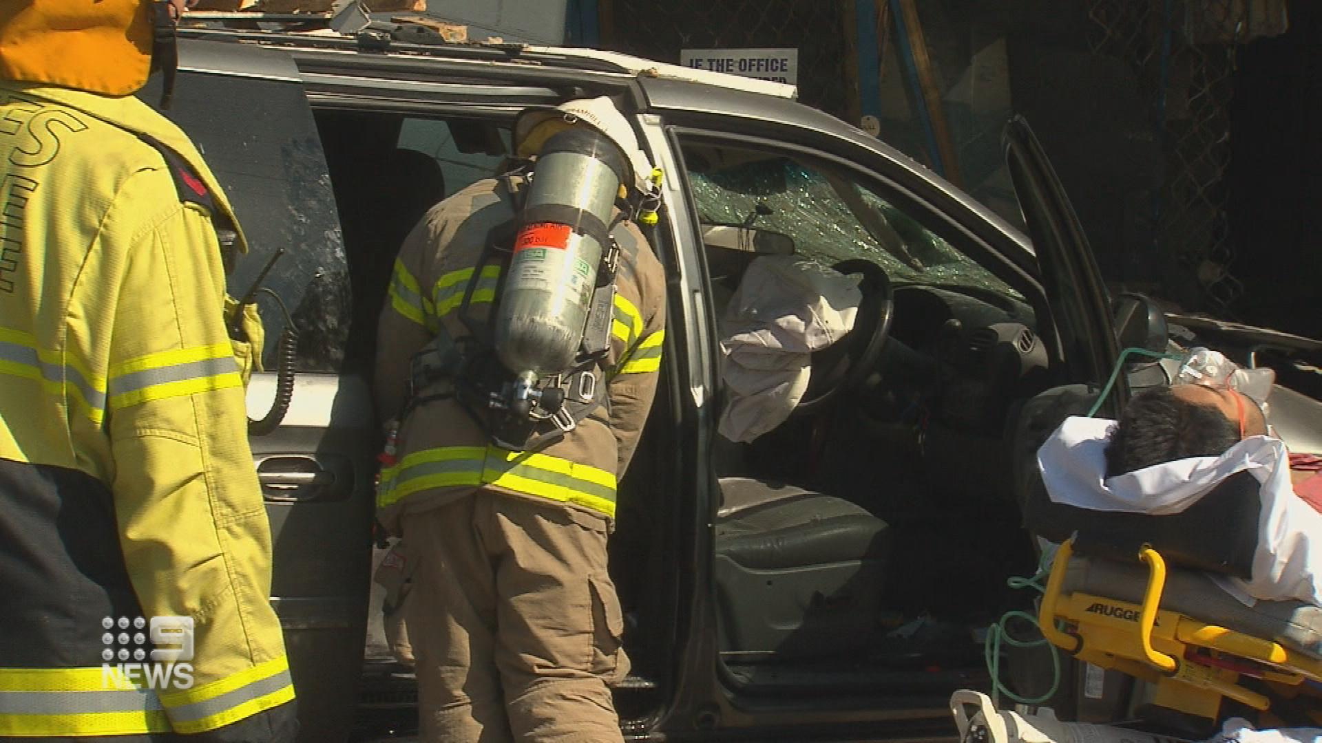 Tandoori oven blamed for Adelaide car crash