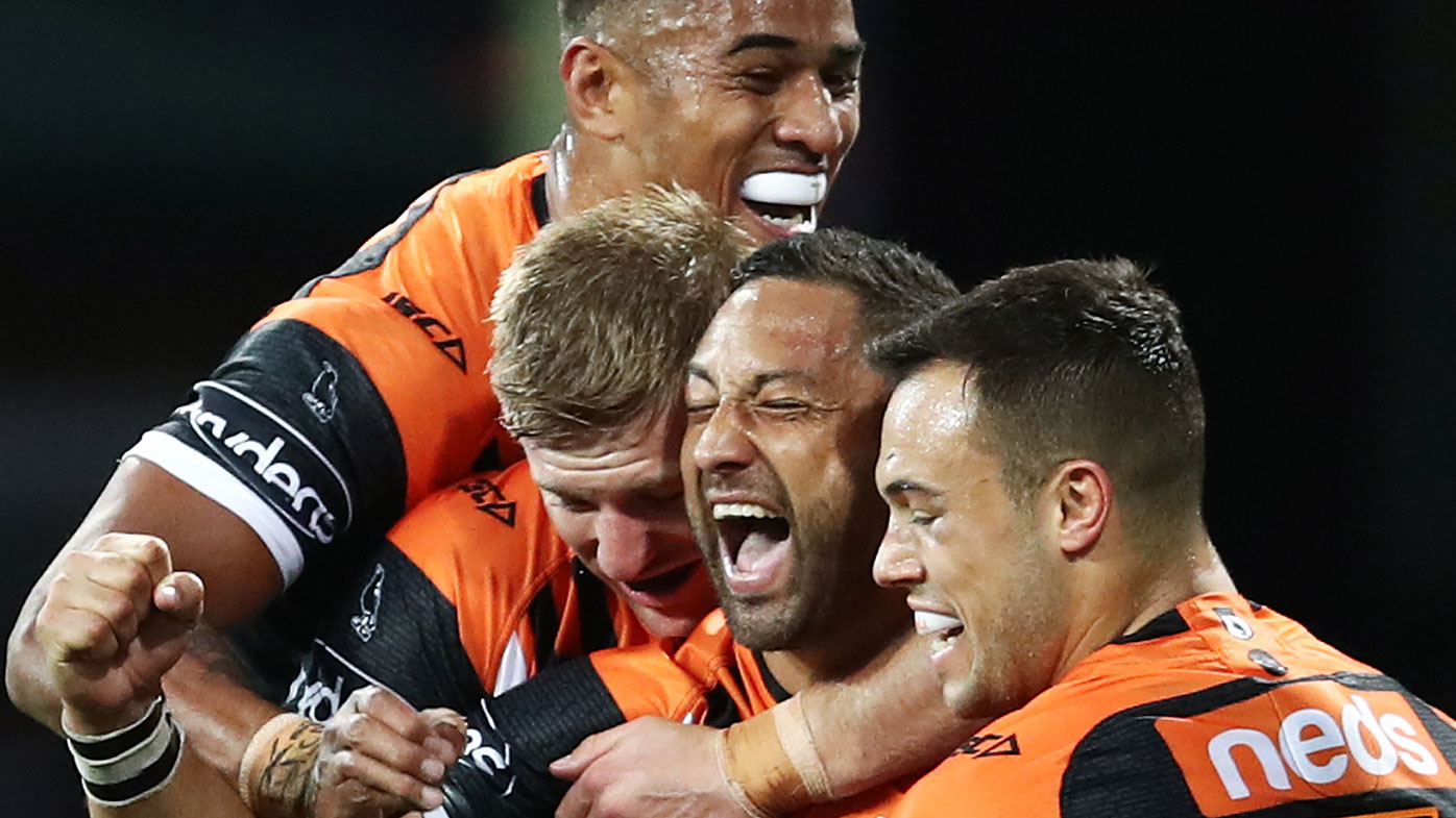 The Tigers downed the Dragons at the SCG