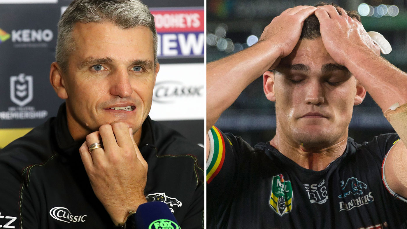 Ivan Cleary and Nathan Cleary
