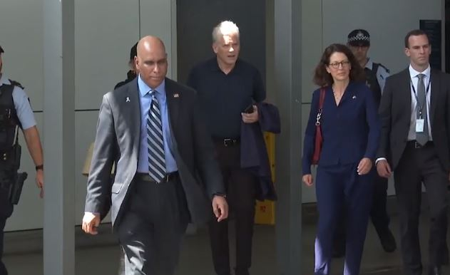 Coulson team members arrive from the US to assist with the investigation into the C-130 crash.