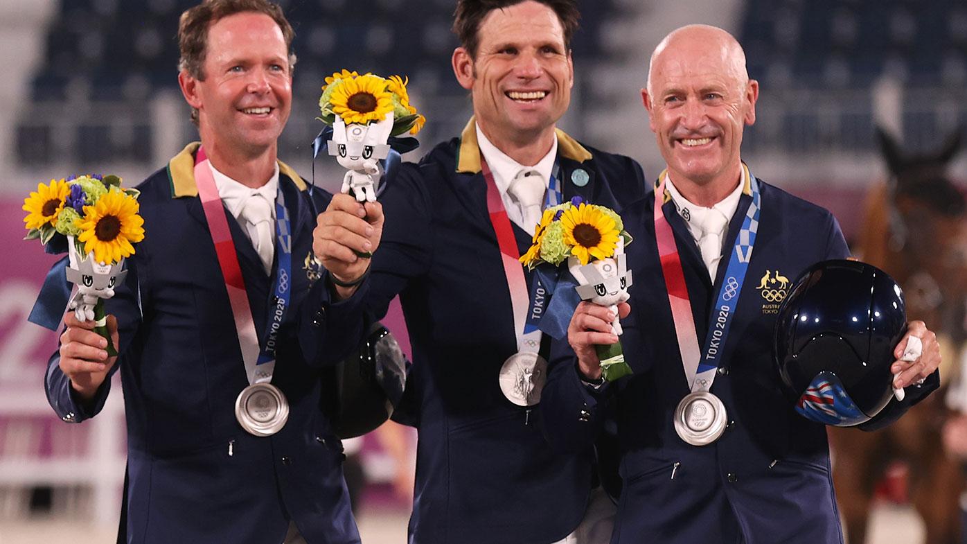 e36927f7 ddd5 4ea3 9f46 68cf2d958341 Andrew Hoy becomes Australia's oldest ever medallist