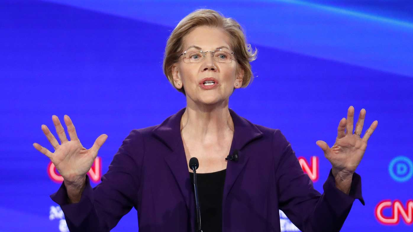 The attacks on Elizabeth Warren show she's now the frontrunner