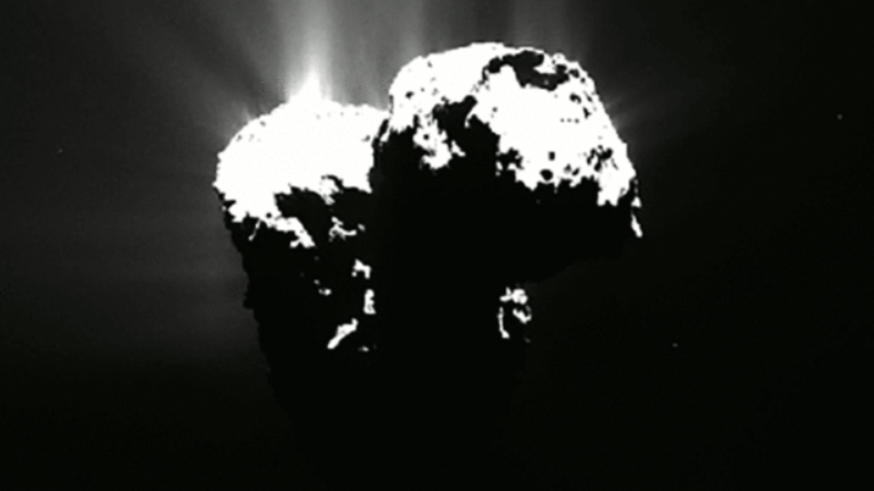 Comet has its own 'northern lights', says NASA