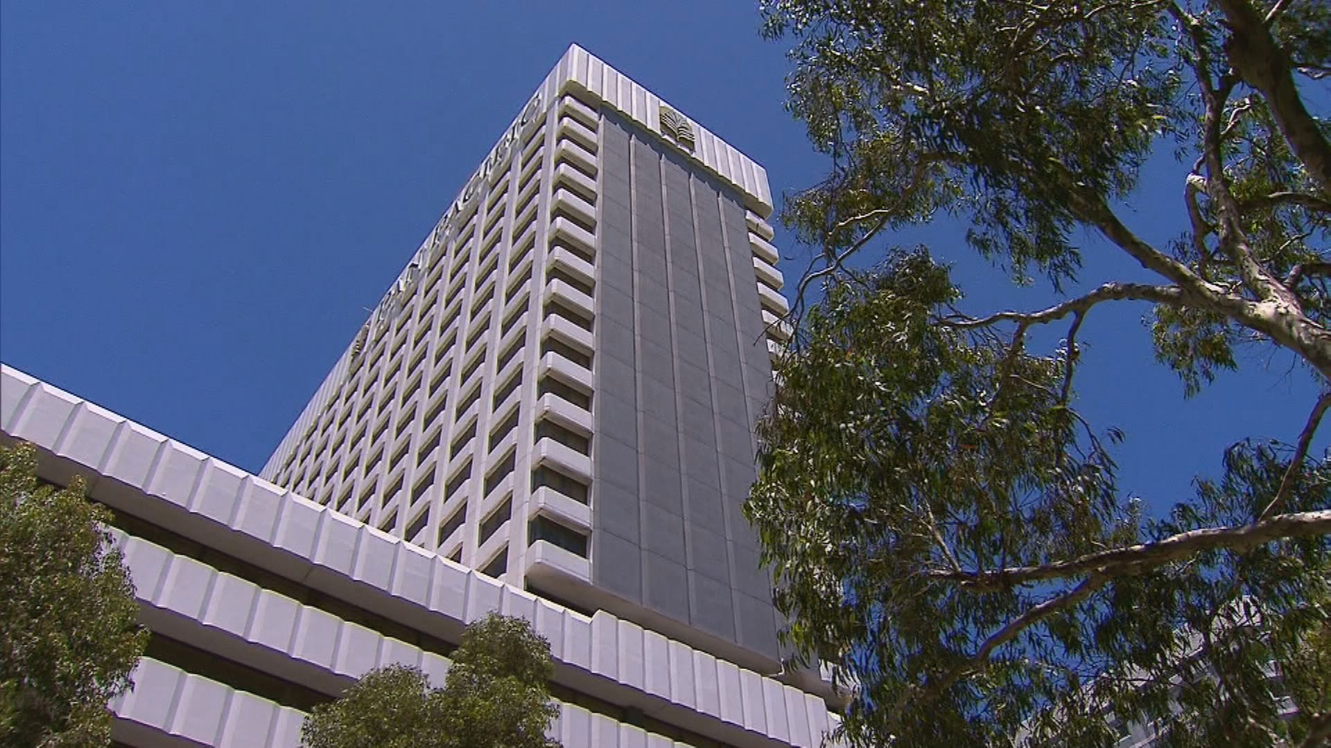 The Pan Pacific Hotel in Perth.