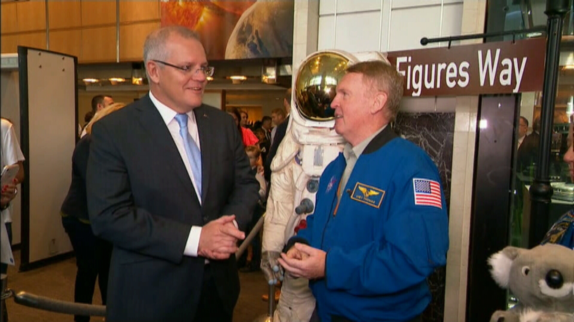 'Beam us up': ScoMo signs $150m deal to help NASA get to Mars