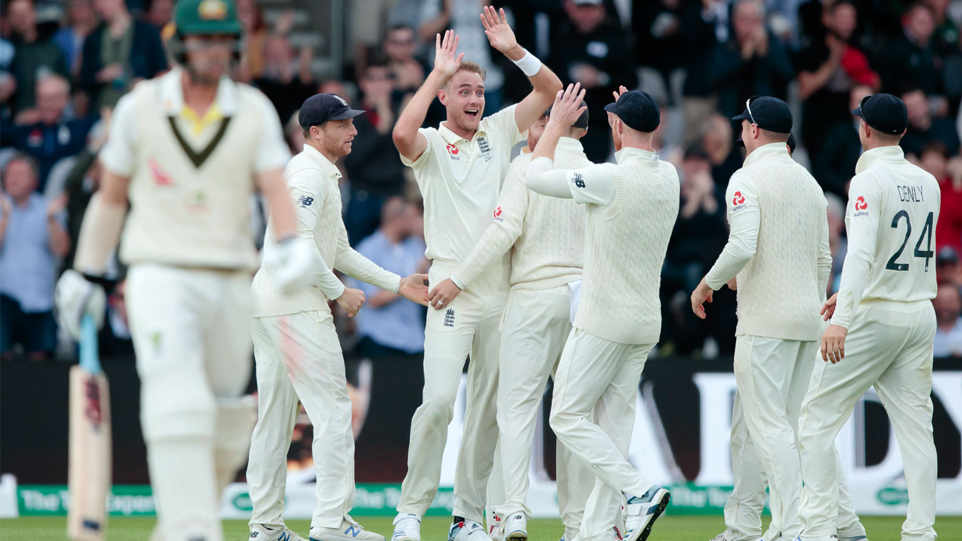 Broad delivered one of the balls of the series