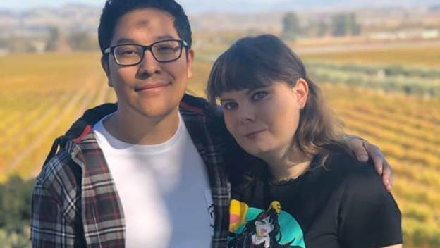 Kiera and Juan meet at least once a year and pin their long-distance success on video games.
