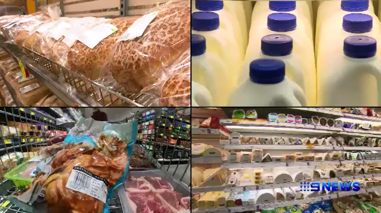 Latest data shows food prices rising at unprecedented rate