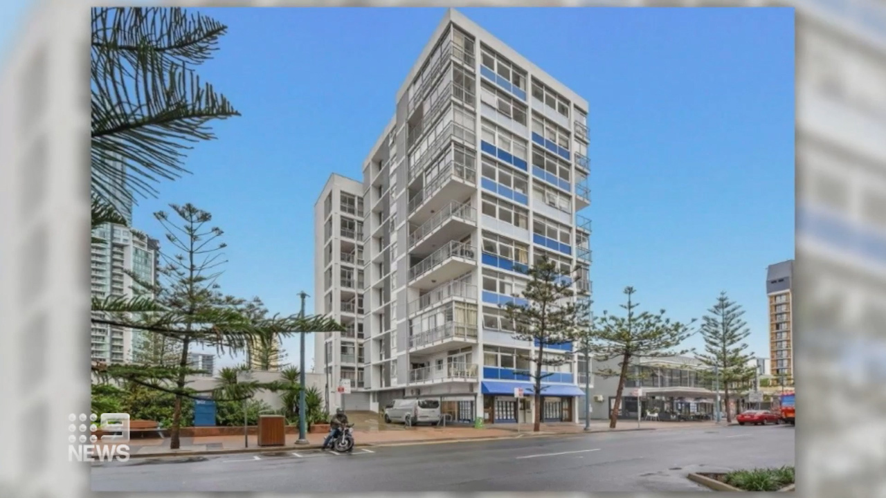 The Gold Coast's first ever historic highrise penthouse has gone under the hammer for the third time in its 60 year lifespan nabbing over half a million dollars at auction.