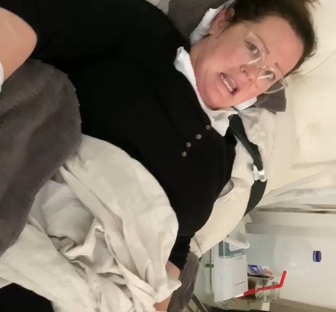 Melissa McCarthy wound up in hospital after an unfortunate spider bite.