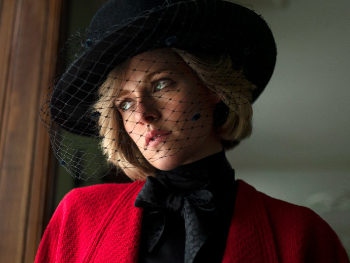 Kristen Stewart as Diana in the biopic, Spencer.
