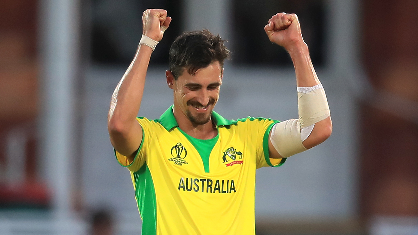 Mitchell Starc took five wickets against New Zealand