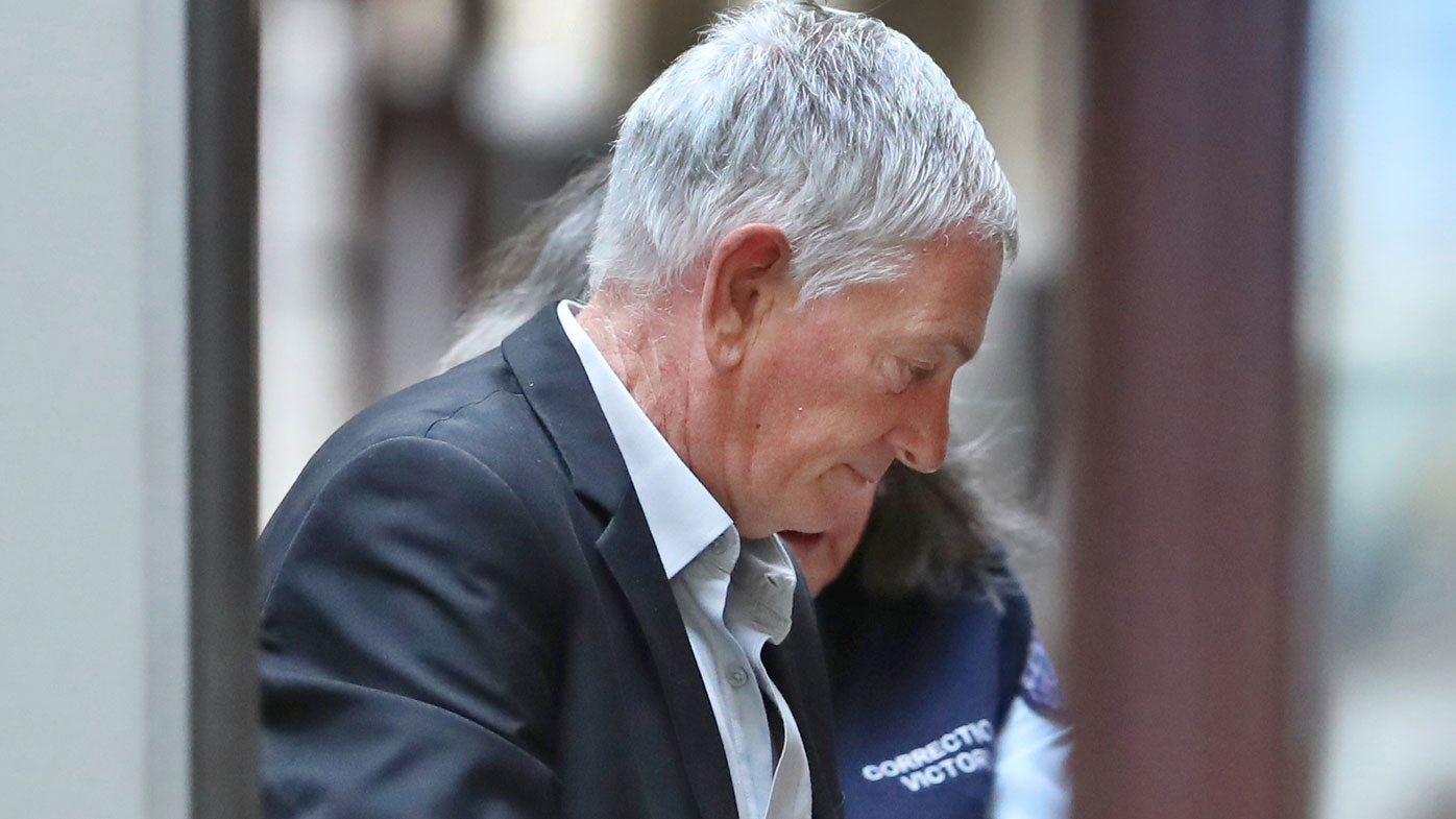 John Spencer White pictured arriving at the Supreme Court of Victoria in Melbourne earlier this year.