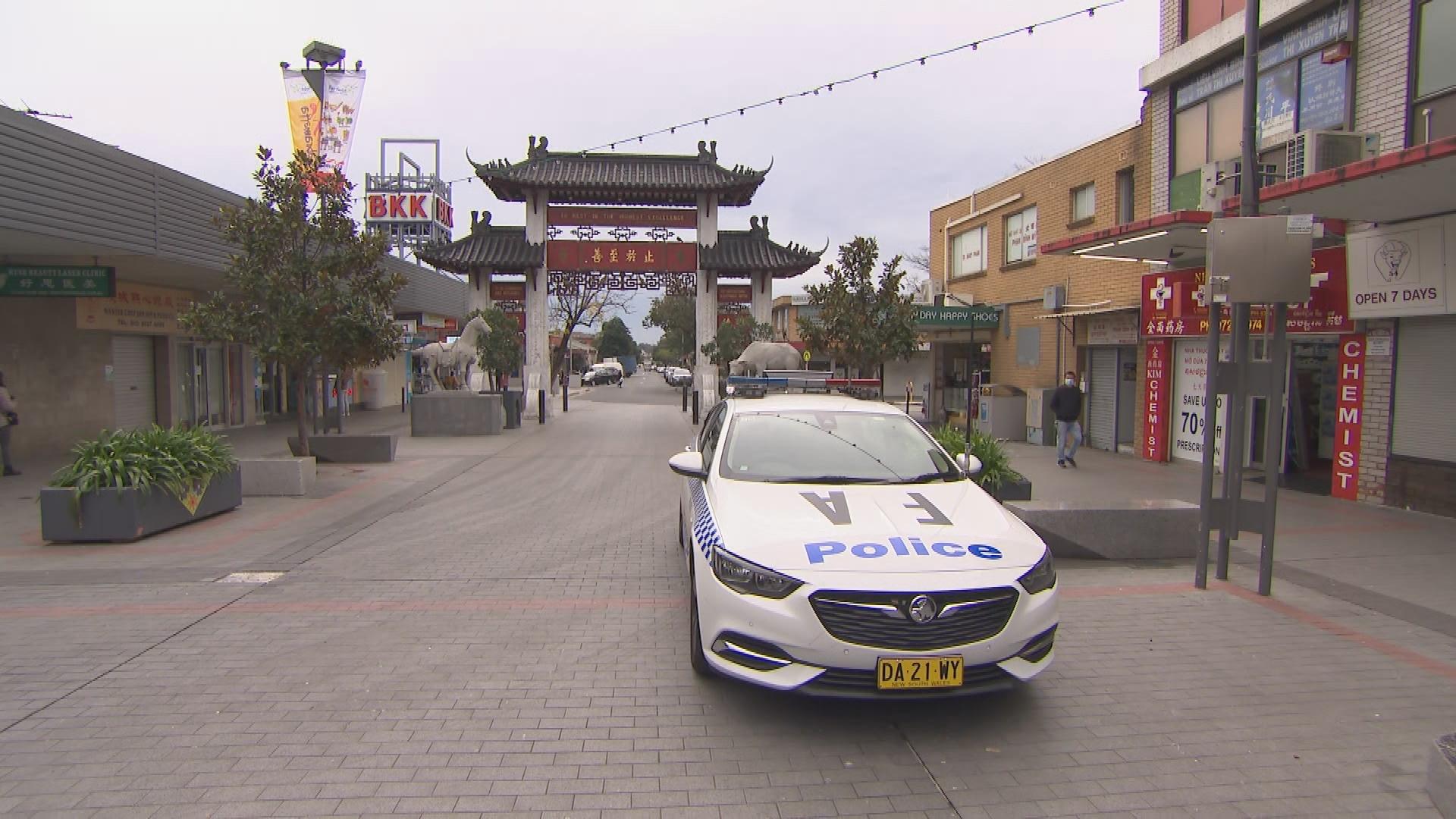 Police patrols Cabramatta