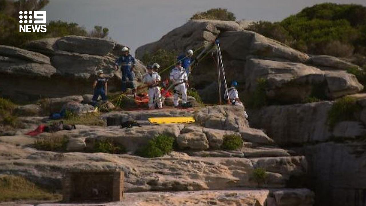 'Unbelievable': Man survives 10 metre cliff fall at North Bondi
