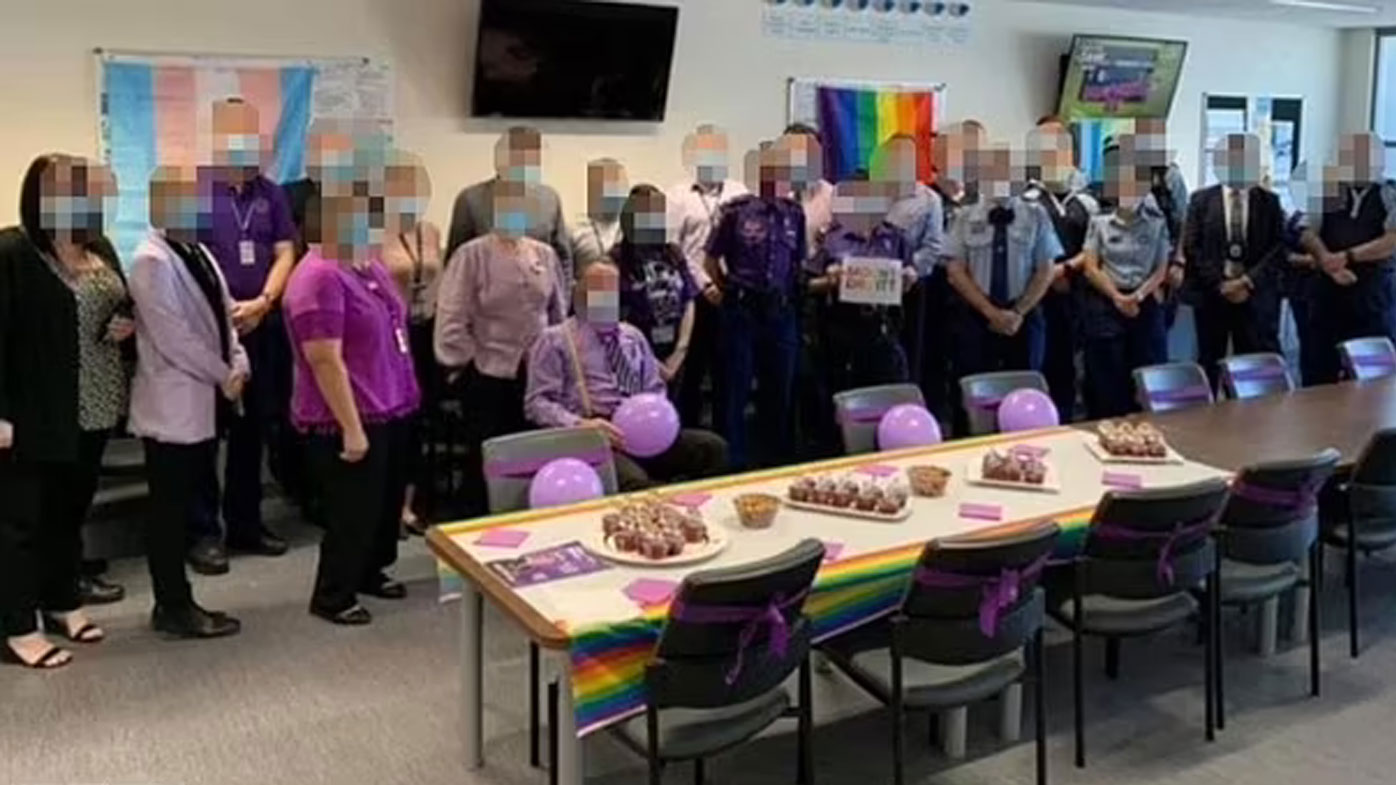 NSW Police are investigating whether a 'Wear it Purple' event at Mount Druitt station breached the Public Health Orders.