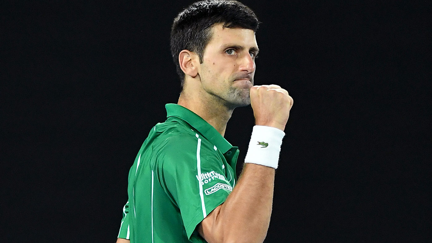 Novak Djokovic wins 2020 Australian Open