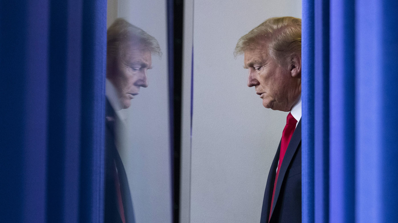 In late February Donald Trump likened the coronavirus to 'the sniffles'.