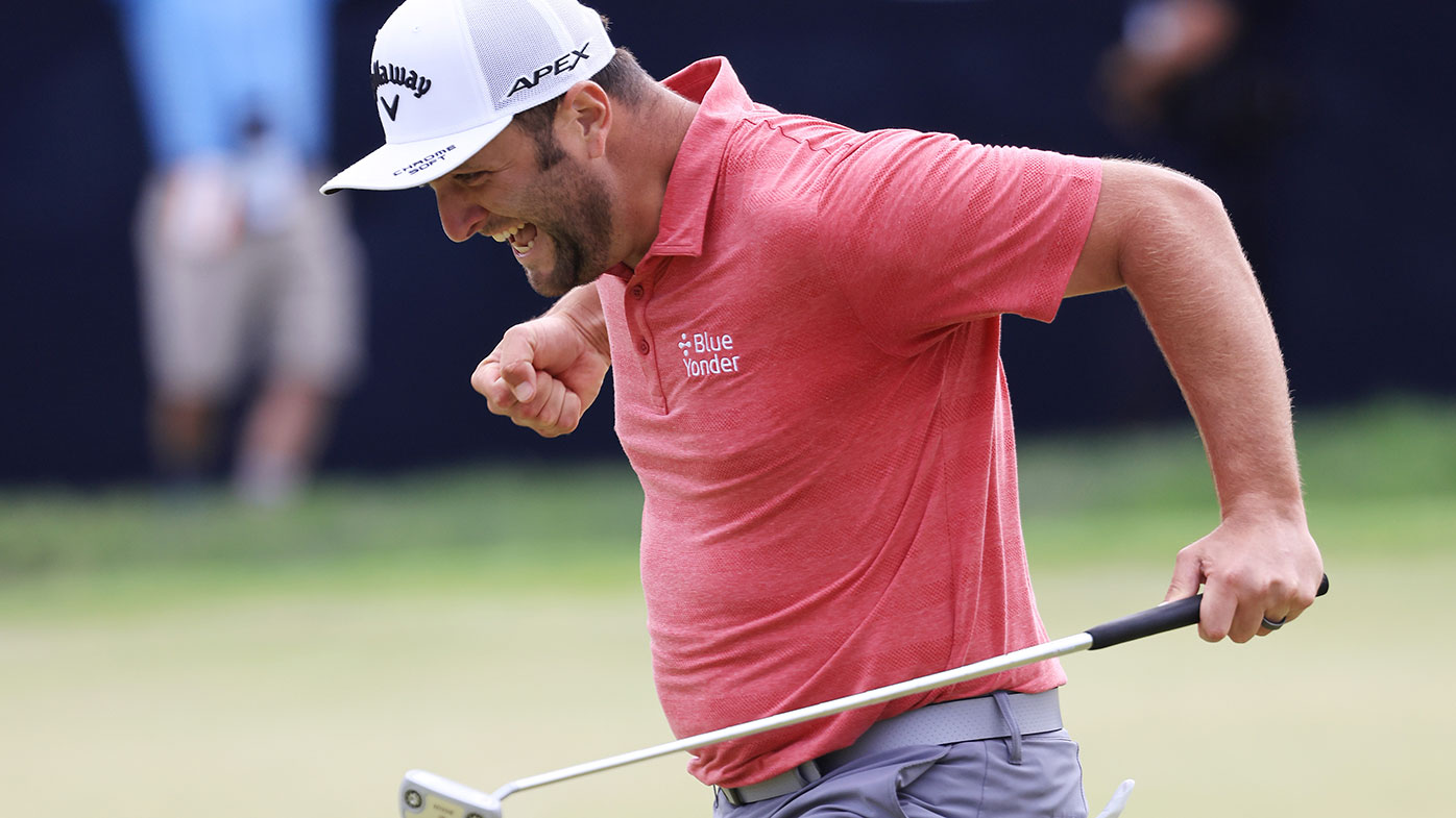 US Open: Jon Rahm claims first major title as Bryson ...