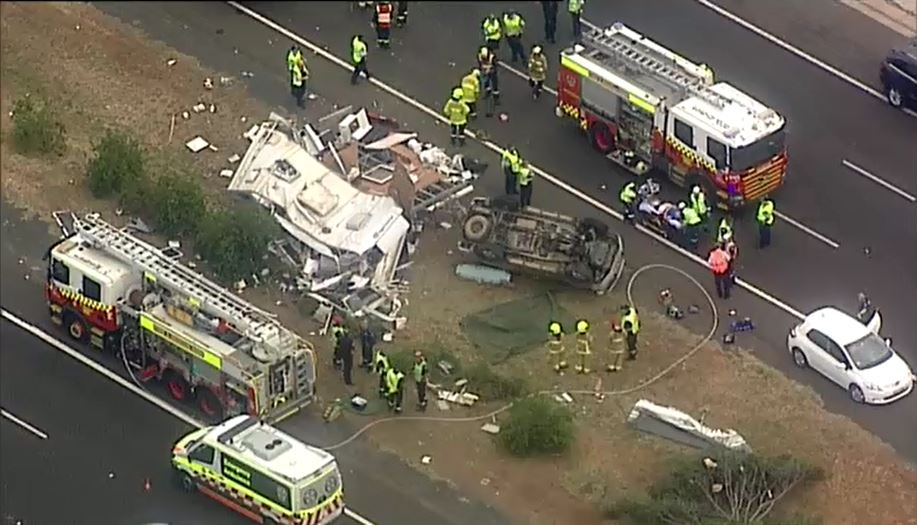 Sydney news: Driver killed, passenger critical after car and