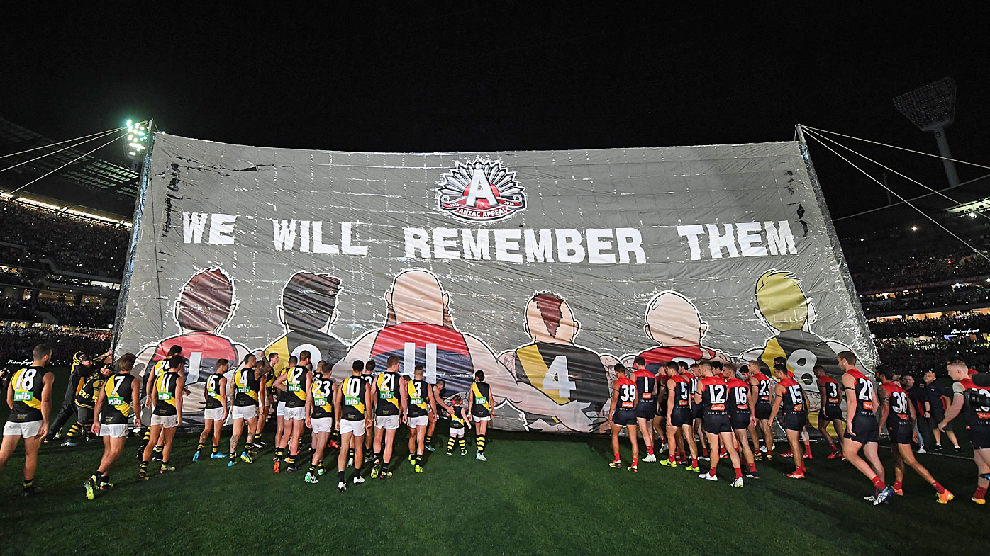 ANZAC Day is a massive day on the AFL calendar