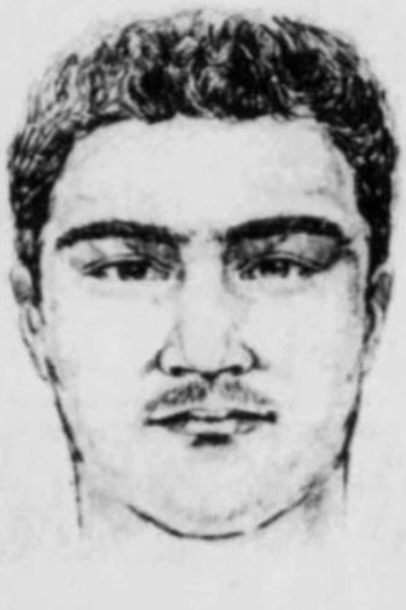 Police released this sketch of the 'Pillowcase rapist' during the lengthy search.