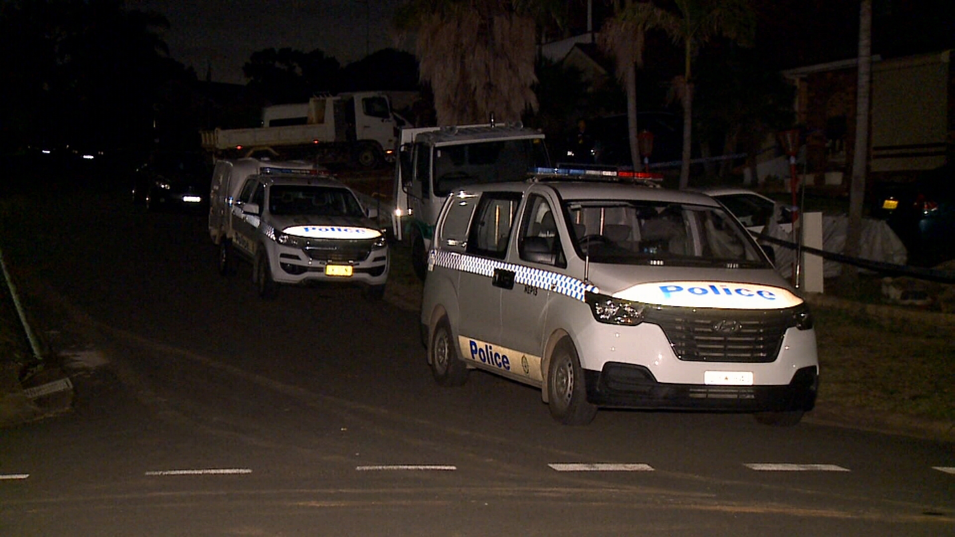 Police and paramedics attended and found a 39-year-old man suffering multiple stab wounds to his torso, arms and legs.