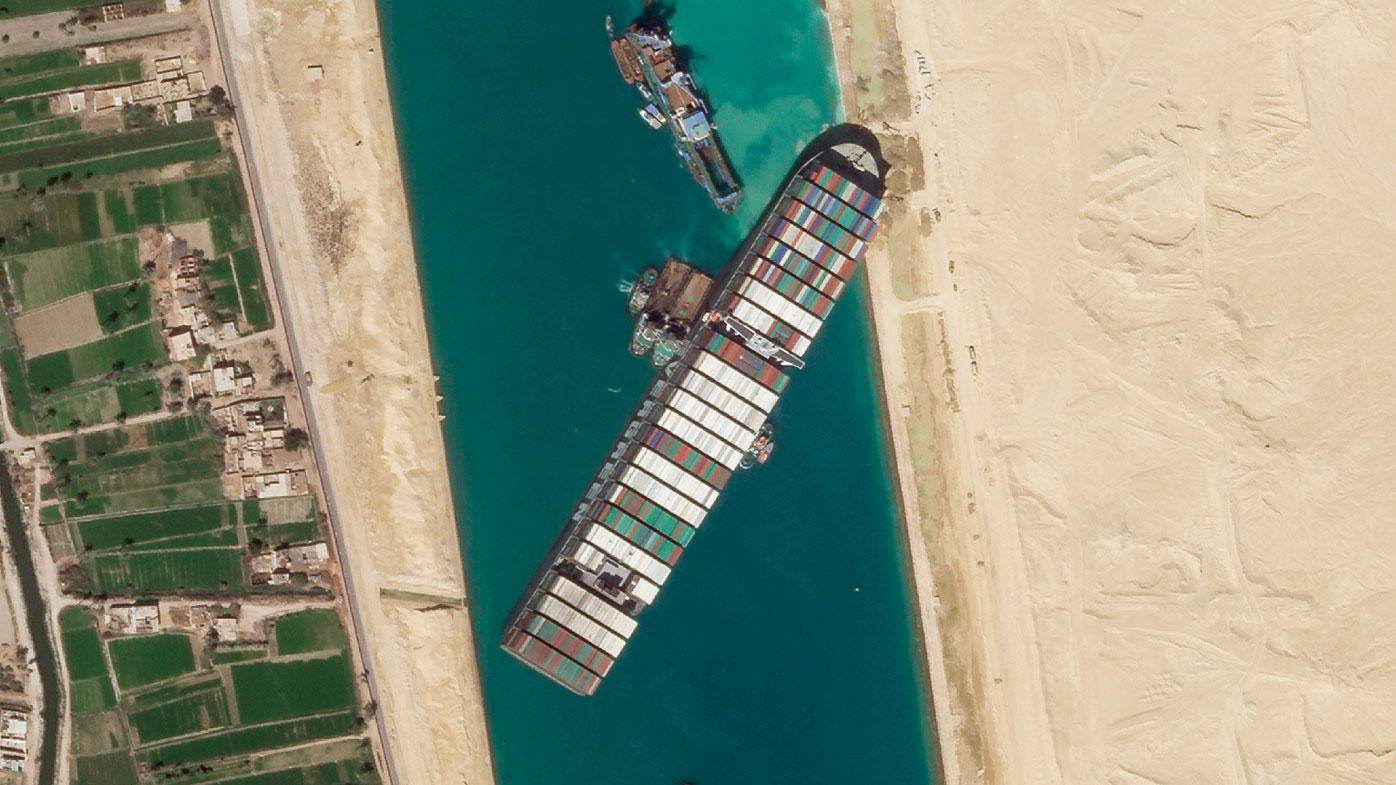 Suez Canal chief: Vessel impounded amid financial dispute