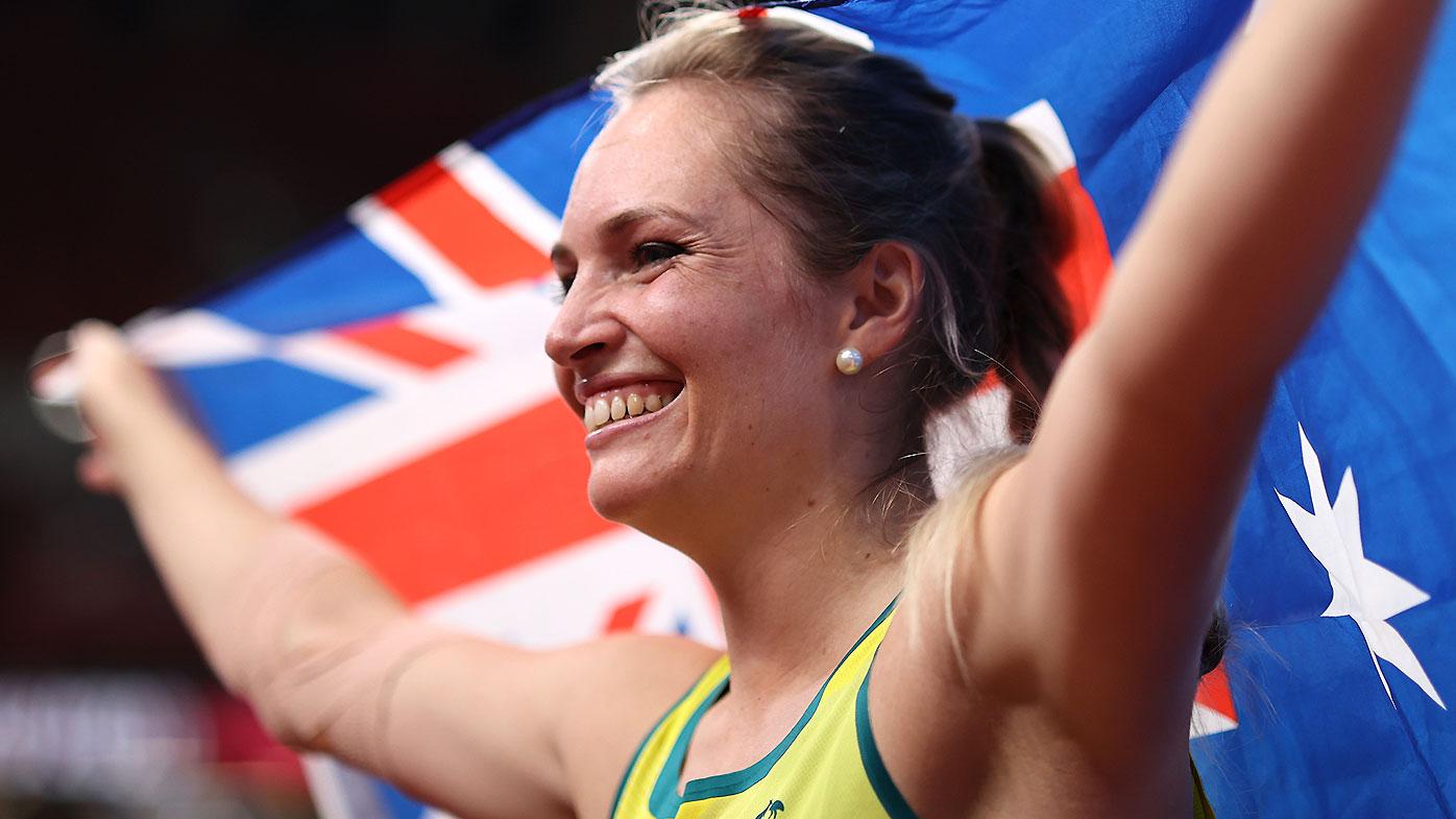 f36e8d17 a544 4fe7 be5c 9e3c7bd3a978 Kelsey-Lee Barber takes bronze medal in javelin